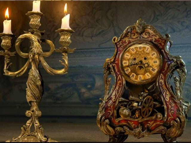 Your First Look atLumière and Cogsworth in Disney'sBeauty and the Beast Remake (UPDATED)
