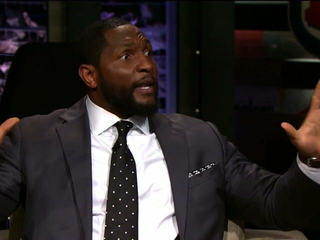Ravens Send Ray Lewis Out To Make Kaepernick's Girlfriend The Scapegoat For Him Not Having NFL Job