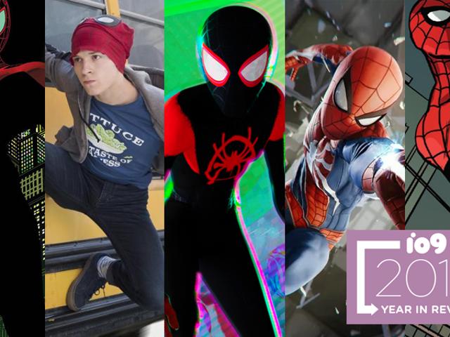 Det fantastiske, spektakulære, sensationelle og ultimative år i Spider-People