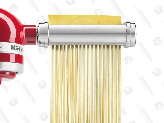 Discover the Joys of Pasta Making With This KitchenAid Attachment, Now Cheaper Than Ever