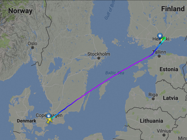 Hail Satan, Flight 666 Lands Safely in HEL on Friday the 13th