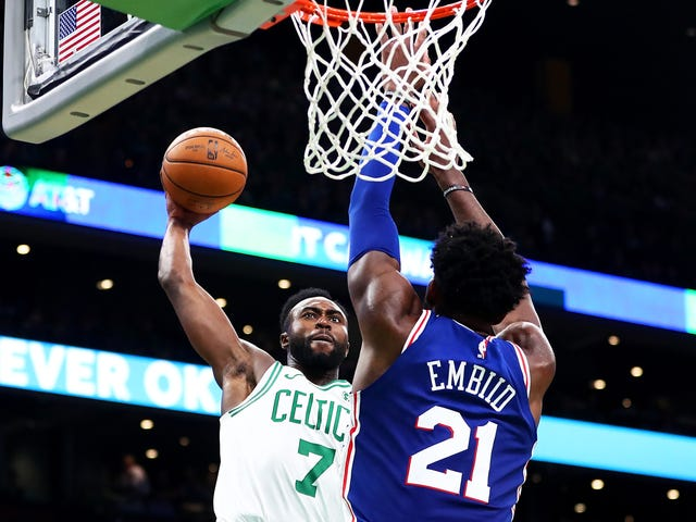 Whatever The Hell Jaylen Brown Did To Joel Embiid Here, It Ruled