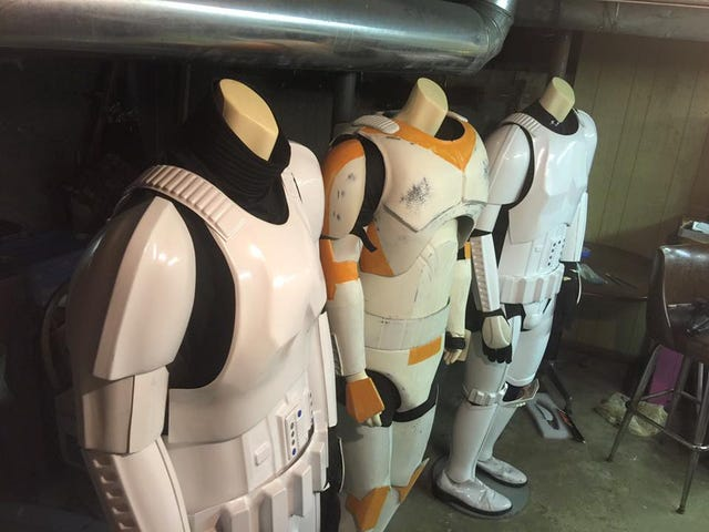 So You Want to Join The Empire: Storage And Care of Stormtrooper Armor