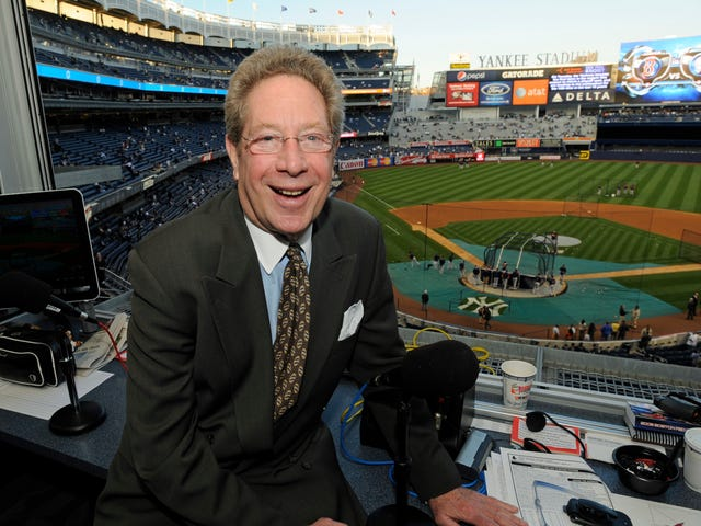 John Sterling Is Still Wooing His Italian Girlfriend With Giancarlo Stanton Home Run Calls