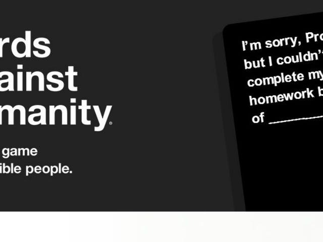 Cards Against Humanity Creator enfrenta acusações de agressão sexual
