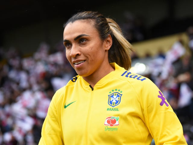 Brazil, Already Held Together With Scotch Tape, Will Now Be Without Marta For At Least A Game