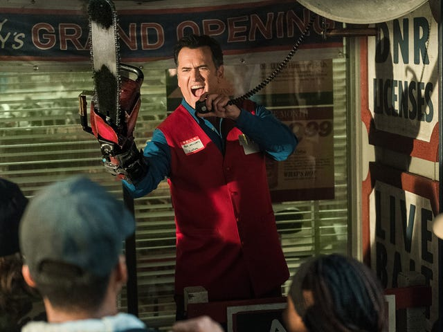 In the New Ash vs. Evil Dead Season Three Trailer, a Supernatural War Hangs Over Ash's Family Reunion