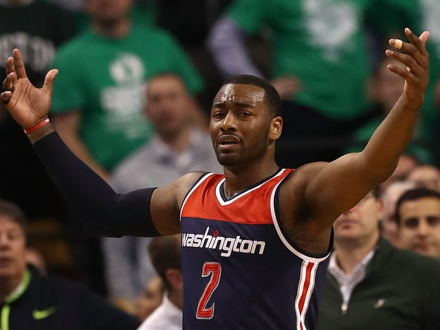 John Wall Is Not Letting This 2K Rating Out Of His Teeth