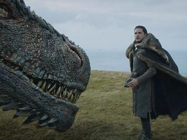 Por qué esta escena entre Jon Snö och draken har en sido av de mästerskapen som ligger i <i>Juego de Tronos</i>