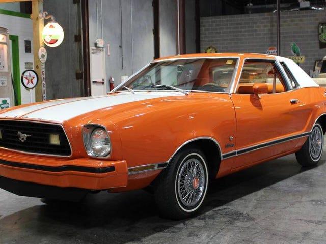 この1977年型フォードマスタングIIは、18,700ドルで、電化取引を証明できましたか?