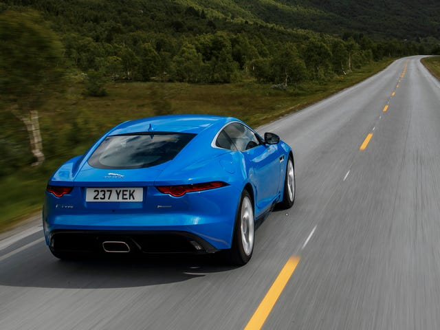 The Successor To The Jaguar F-Type Will Be Electrified