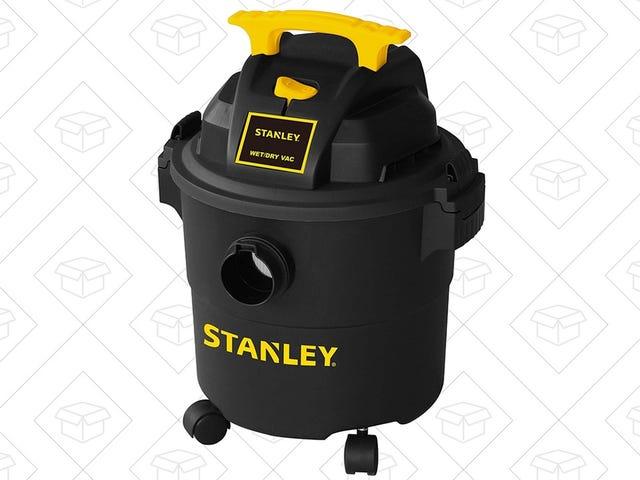Pulire il tuo bagnato e asciutto con questo Stanley Vacuum da $ 30