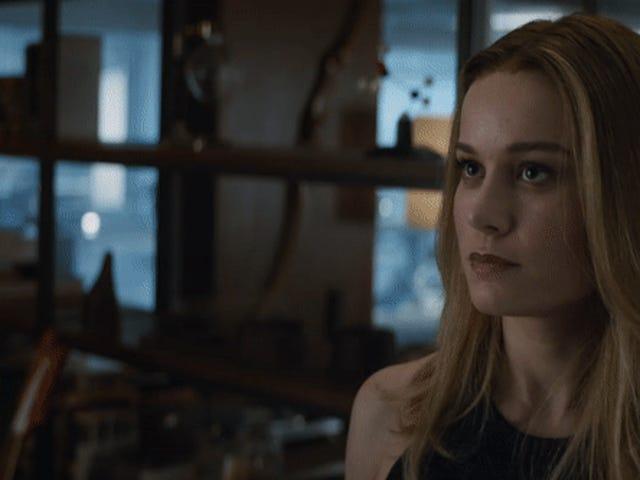 Capitana Marvel ofrece una primera explicación sobre su ausencia en este nuevo clip de Avengers: Endgame