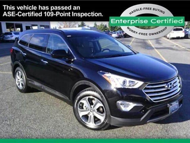 My wife wants us to buy a Hyundai Santa Fe.