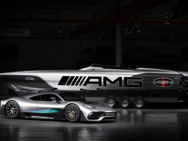 Hey Mercedes-AMG: Please Pump The Brakes On All The Boats