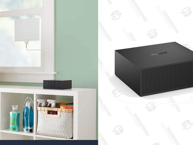 Save $85 When You Cut the Cord With Amazon's Fire TV Recast DVR
