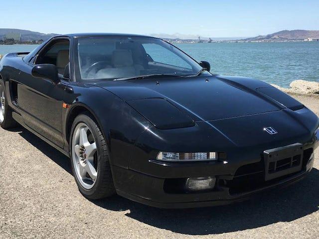 Por $ 34,800, ¿Iría para este 1990 Acura ... Oops, me refiero Honda NSX?