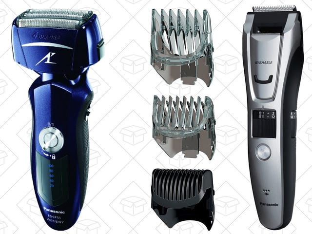 Amazon's Gold Box Covers All Of Your Hair Trimming Needs