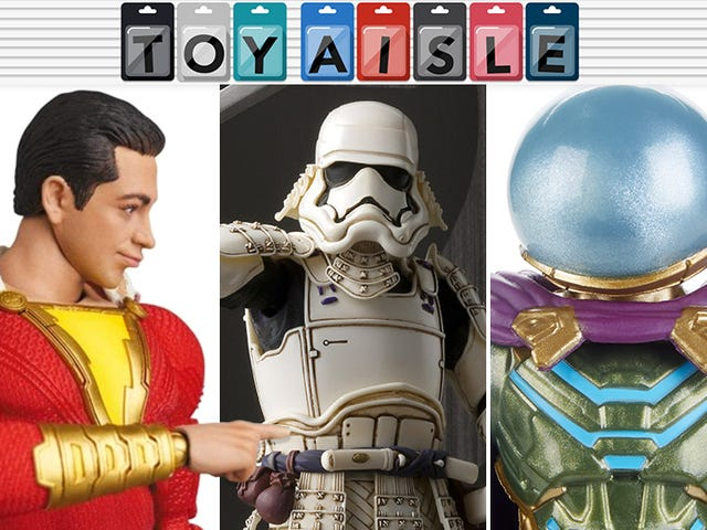 As Muitas Faces Incríveis de Shazam e Mais dos Brinquedos Mais Maravilhosos da Semana