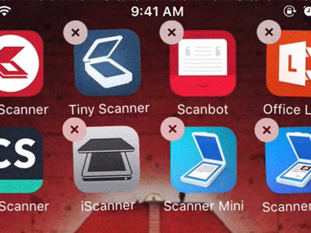 Free Document Scanning Apps Are Sleazy and Gross, Don't Download Them