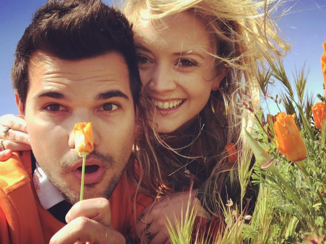 Billie Lourd and Taylor Lautner Are Breaking Up