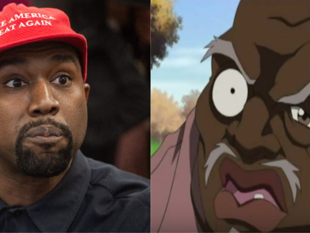 If You Googled 'Boondocks Characters,' Kanye West's Picture Showed Up as Uncle Ruckus