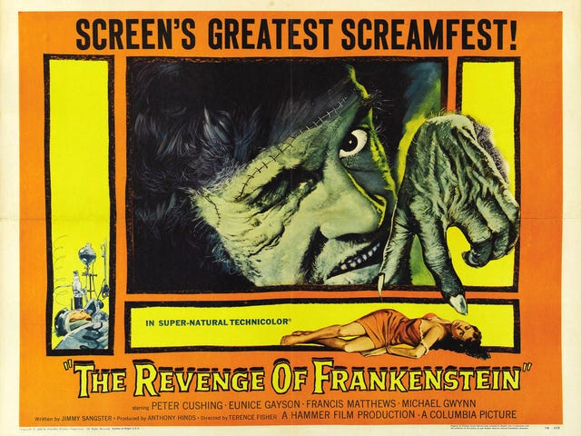 Svengoolie: The Revenge of Frankenstein (1958)