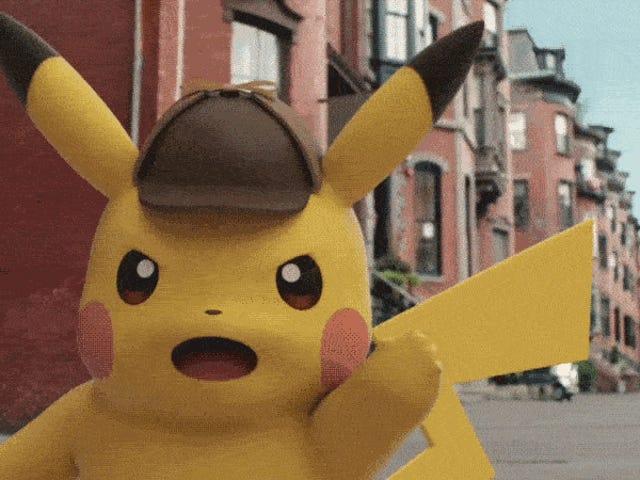 <i>Detective Pikachu</i> blir den første Live-Action <i>Pokémon</i> Movie