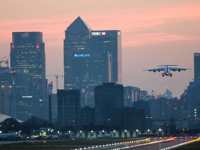 Unexploded WWII Bomb Found In River Near London City Airport