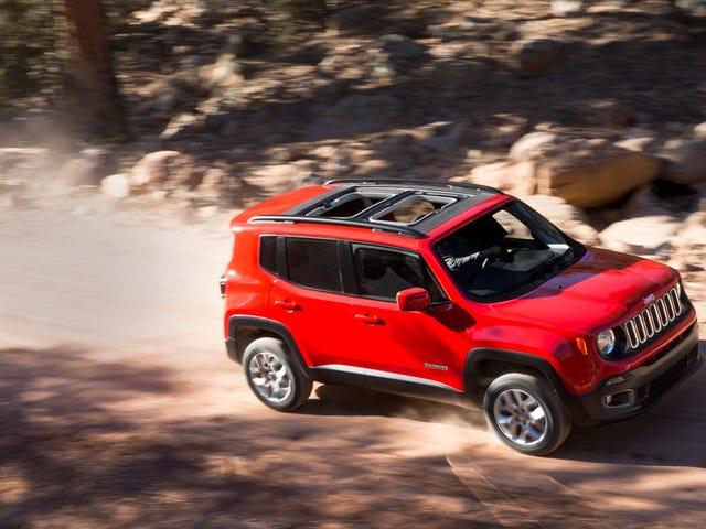 2015 Jeep Renegade on aivan yhtä hyvä kuin toivoisit sen olevan
