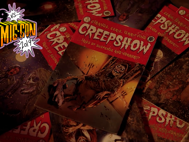 The Walking Dead's Greg Nicotero Talks Creepshow and Its Connection to His Lifelong Love of Horror
