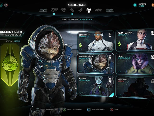 Early Mass Effect: Andromeda Art Shows Some Very Different Characters