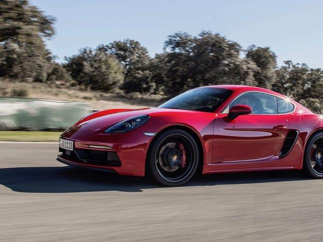 Reservados desde el Museo Porsche: Cayman GTS