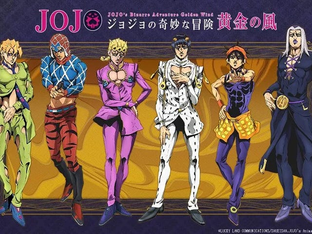 Here it is the first teaser of JoJo's Bizarre Adventure Part 5 : Golden Wind