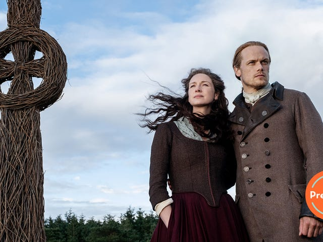 Outlander's season five premiere tells a different kind of love story with Jamie and Murtagh