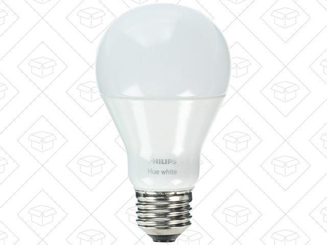 Philips' Bare Bones Hue Smart Bulbs Are Down to $10 Each [Update: $13 Now]