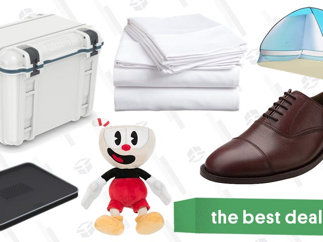 Sunday's Best Deals: Cotton Sheets, Leather Dress Shoes, Otterbox Coolers, and More