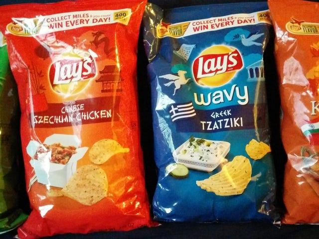 SnackTAYku: Lay's Global Flavours 4'ü bir arada İnceleme