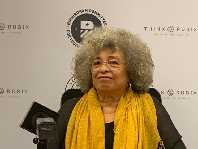 After Civil Rights Institute Rescinded Prestigious Award, Angela Davis Showed Up Anyway