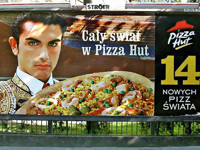 Parece que hay Paella Pizza en Pizza Hut en México!