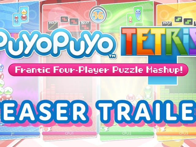Puyo Puyo Tetris Coming West To PS4 and Switch