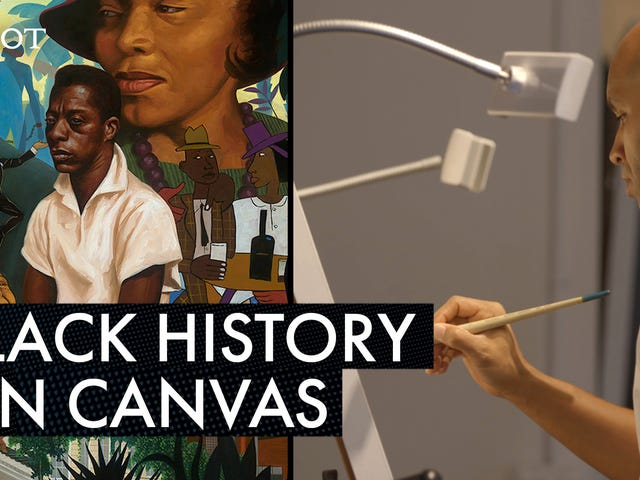 Kadir Nelson Puts Iconic Moments in Black History on Canvas