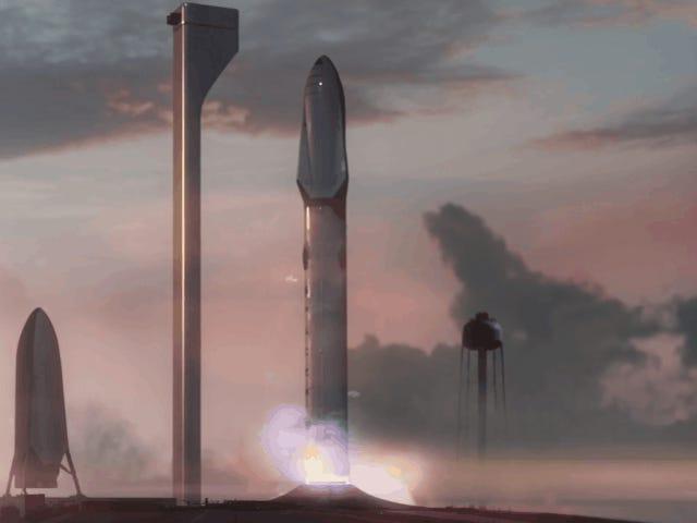 Asi es elplpletary Transport system, el cohete de spaceX que llevará a la humanidad a marte