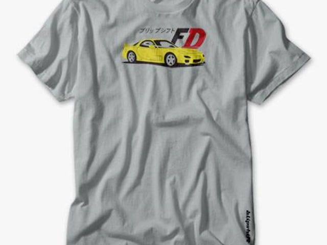 Initial D / RX7 Blipshift shirt