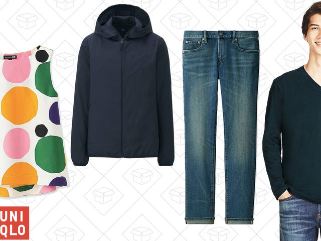 Grab Free Shipping On Everything This Weekend at Uniqlo