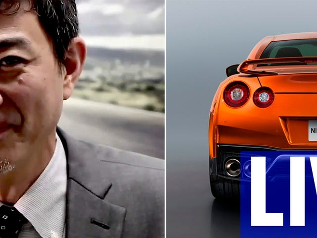 Ask Nissan's Chief GT-R Specialist Hiroshi Tamura Anything You Want Right Now
