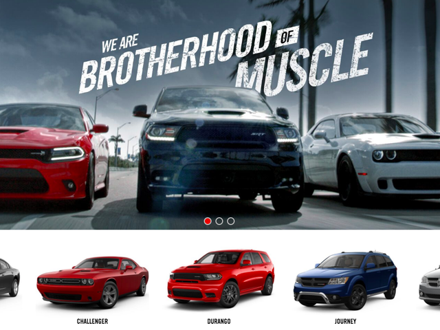 The Entire Dodge Car Lineup Is Old As Hell