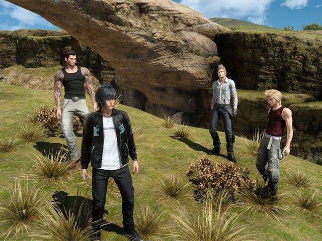 <i>Final Fantasy XV</i> PC는 챔피언처럼 초고 해상을 처리합니다.