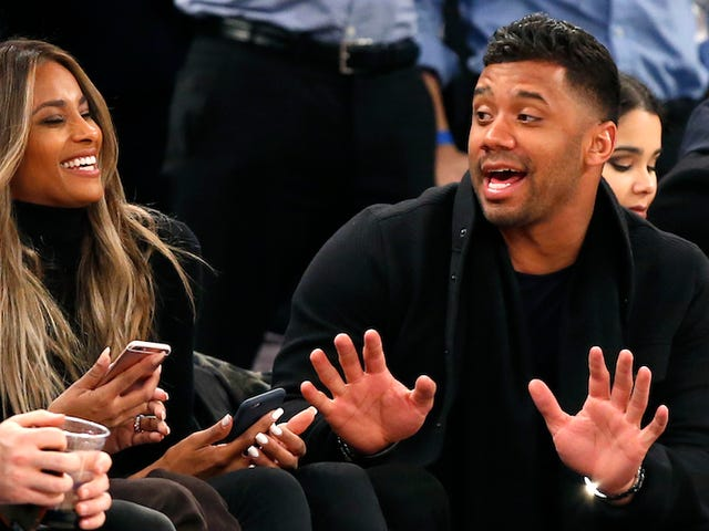 Report: Russell Wilson And Ciara Can Fuck Now