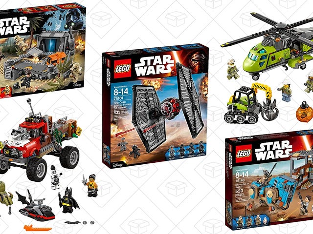 Your Holiday Gifts Have Been Figured Out With This BOGO 50% Off LEGO Sale
